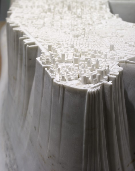 "Yutaka Sone's ""Little Manhattan"" is Carved From Marble: CF018761-471x600.jpg"