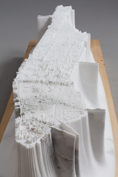 "Yutaka Sone's ""Little Manhattan"" is Carved From Marble: SONYU0734_view4-400x600.jpg"