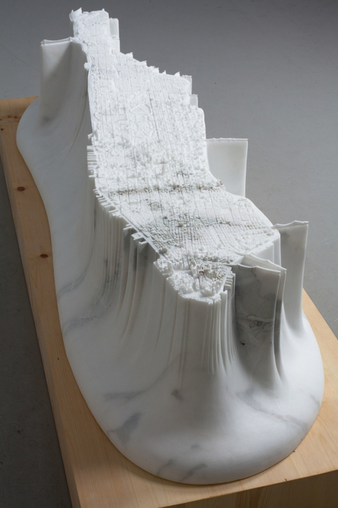 "Yutaka Sone's ""Little Manhattan"" is Carved From Marble: Screen Shot 2014-04-02 at 10.12.00 PM.png"