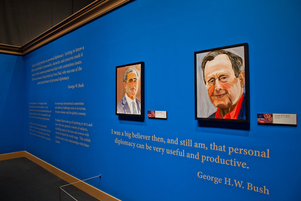 George W. Bush Will Unveil 24 Portraits of World Leaders: 05paintings-articleLarge.jpg
