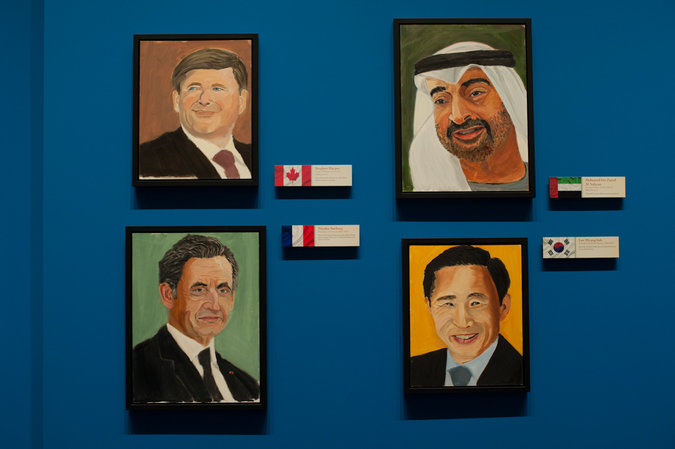 George W. Bush Will Unveil 24 Portraits of World Leaders: 05paintings-master675.jpg