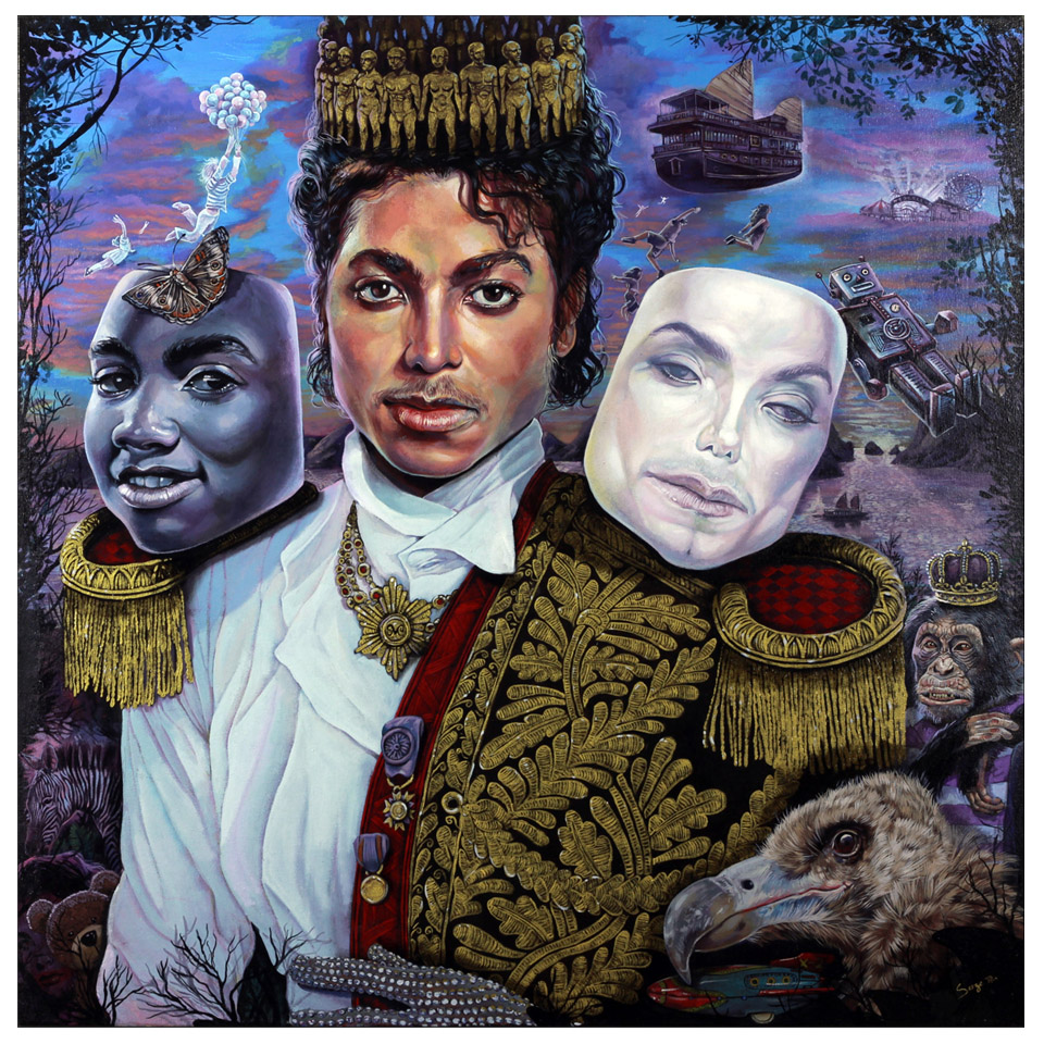 "Serge Gay Jr. ""Gold"" @ Spoke Art, SF: Michael Jackson.jpg"