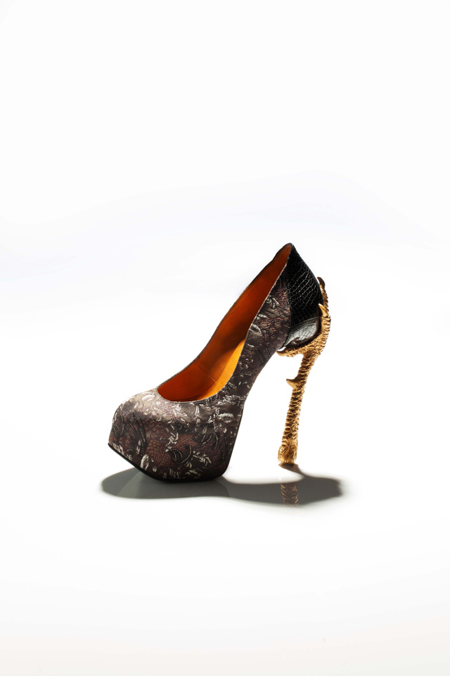 """Bird-Witched,"" Animal-Inspired Stilettos by Masaya Kushino: JuxtapozMasayakushino00.jpg"