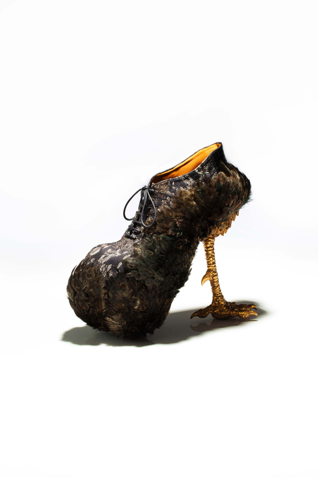 """Bird-Witched,"" Animal-Inspired Stilettos by Masaya Kushino: JuxtapozMasayakushino01.jpg"