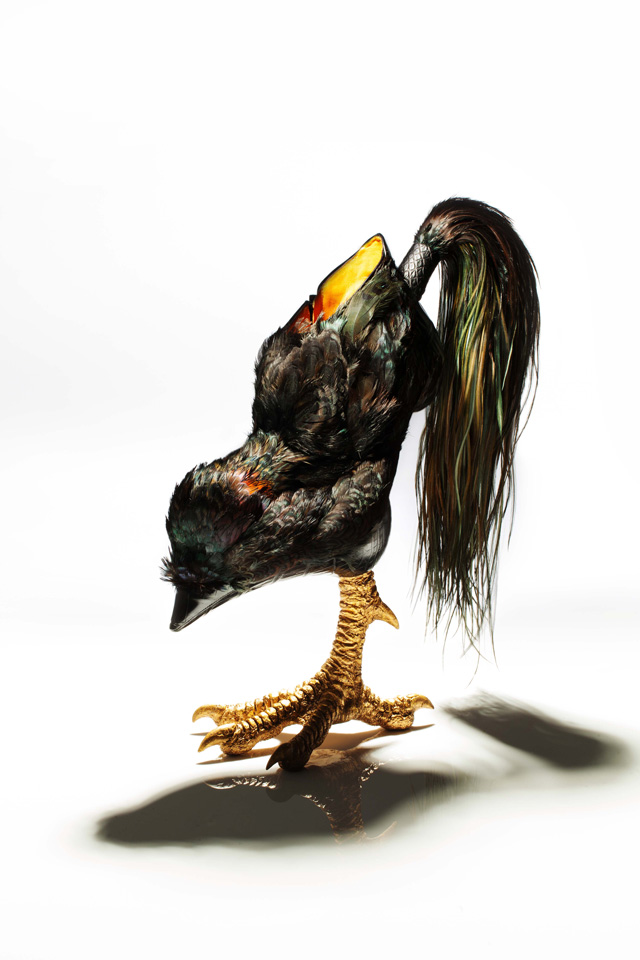 """Bird-Witched,"" Animal-Inspired Stilettos by Masaya Kushino: JuxtapozMasayakushino02.jpg"