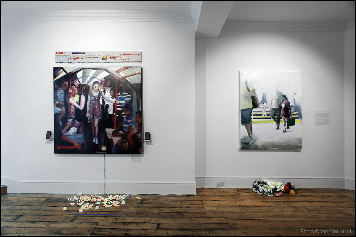 "A Look Through Brett Amory's ""Twenty-Four in London"": Social_Media_Only_IMG_4422_Artist_Brett_Amory_Photo_©_Ian_Cox_2014.jpg"