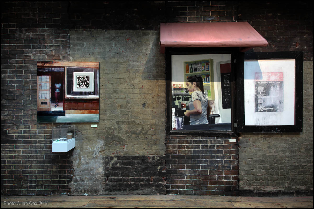 "A Look Through Brett Amory's ""Twenty-Four in London"": Social_Media_Only_IMG_4514_Artist_Brett_Amory_Photo_©_Ian_Cox_2014.jpg"