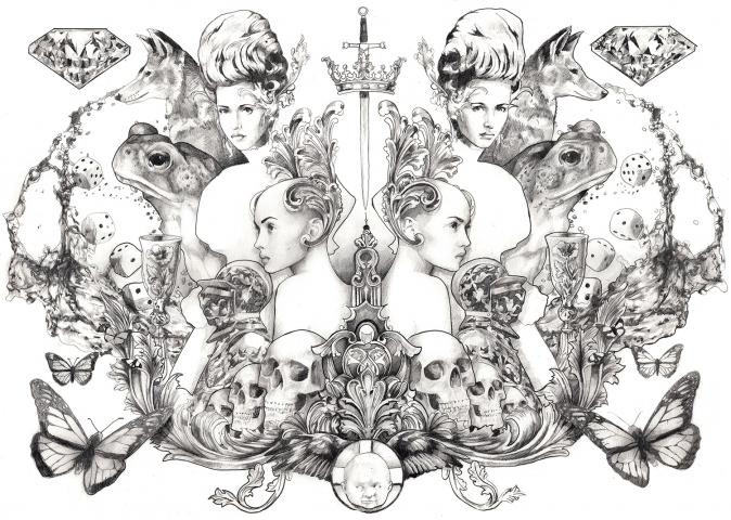 Max Gregor Illustration: fairytale by max gregor pencil on paper a2.jpg