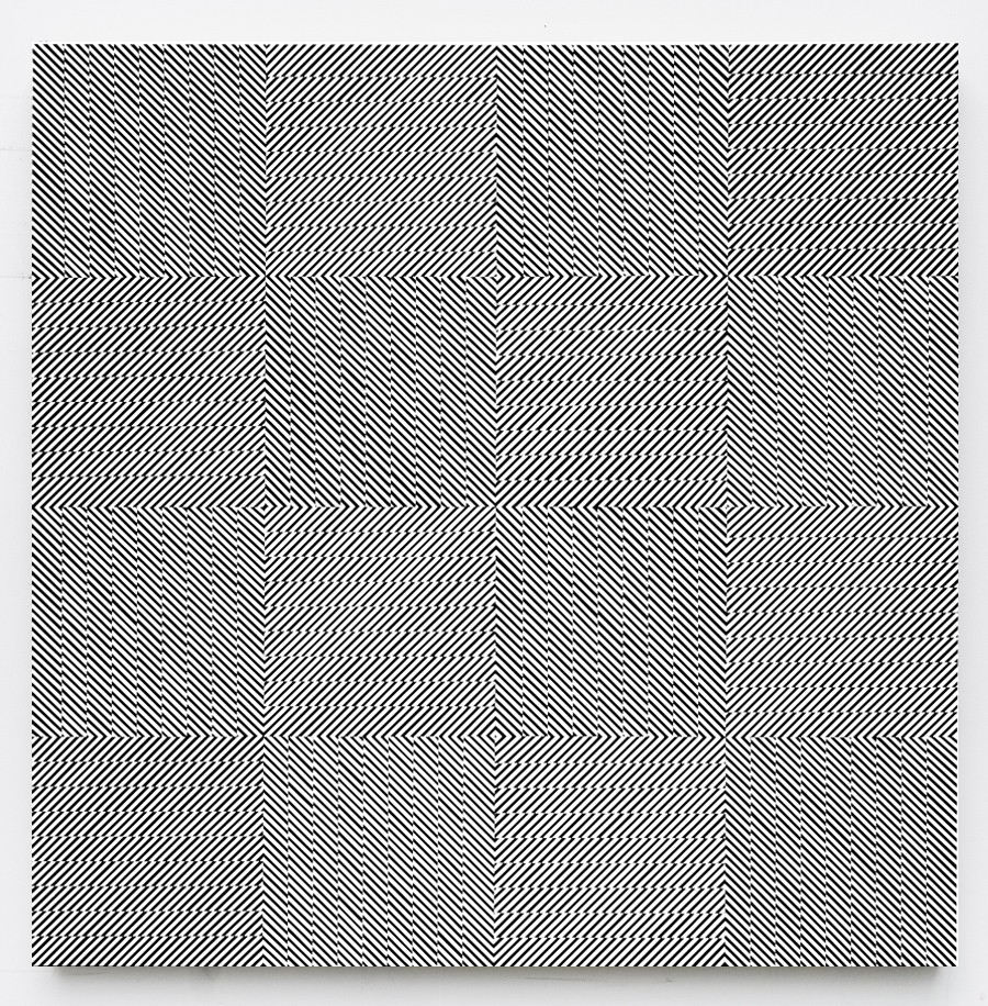 Op-Art by Johnny Abrahams: 4_line-study-in-16-squares_905.jpg
