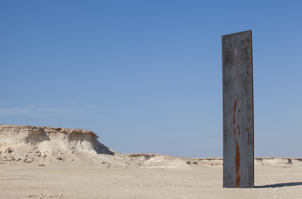 """East-West/West-East"": Richard Serra in Qatar: Screen shot 2014-04-10 at 10.45.42 AM.png"