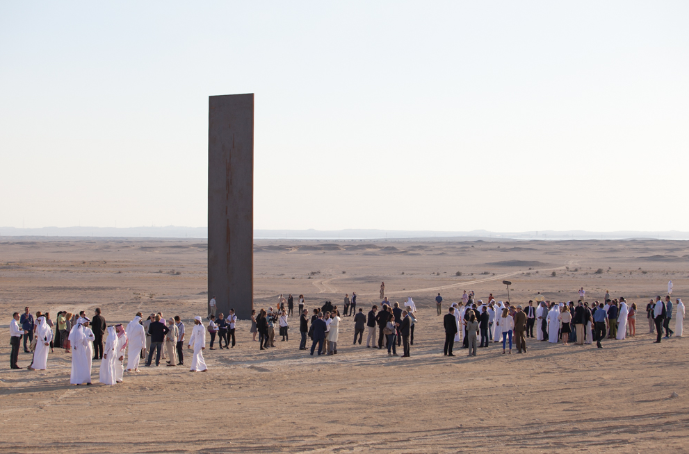 """East-West/West-East"": Richard Serra in Qatar: Screen shot 2014-04-10 at 10.46.24 AM.png"