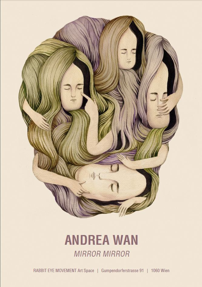 "Andrea Wan ""Mirror Mirror"" @ Rabbit Eye Movement Art Space: Juxtapoz-AndreaWan000.jpg"