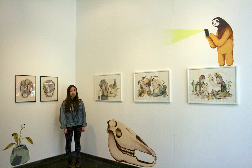 "Andrea Wan ""Mirror Mirror"" @ Rabbit Eye Movement Art Space: Juxtapoz-AndreaWan002.jpg"