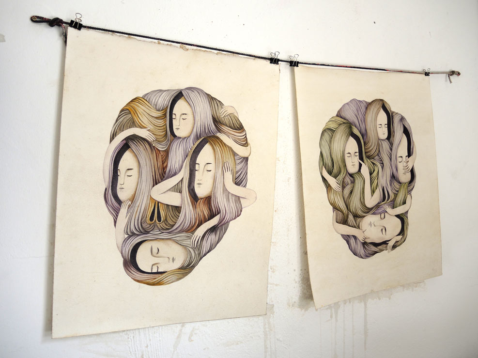"Andrea Wan ""Mirror Mirror"" @ Rabbit Eye Movement Art Space: Juxtapoz-AndreaWan004.jpg"