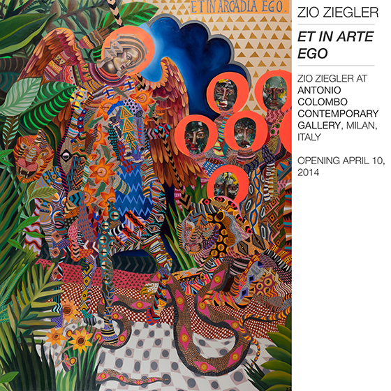 """Et In Arte Ego"" : Zio Ziegler @ Antonio Colombo Gallery, Milan: photo-1.JPG"