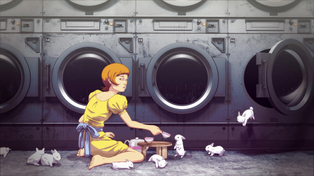 Work from Commercial Illustrator Nook: laundry_bunny_final_1020.jpg