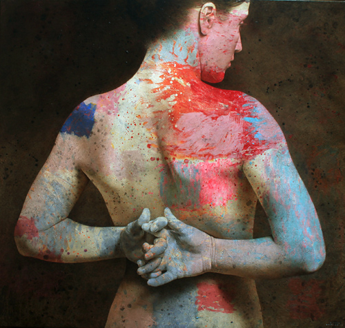 Figurative Painter Michal Lukasiewicz Adds Color: ad531cf76bfe007ac2bb29418e19ec2e_0.jpg