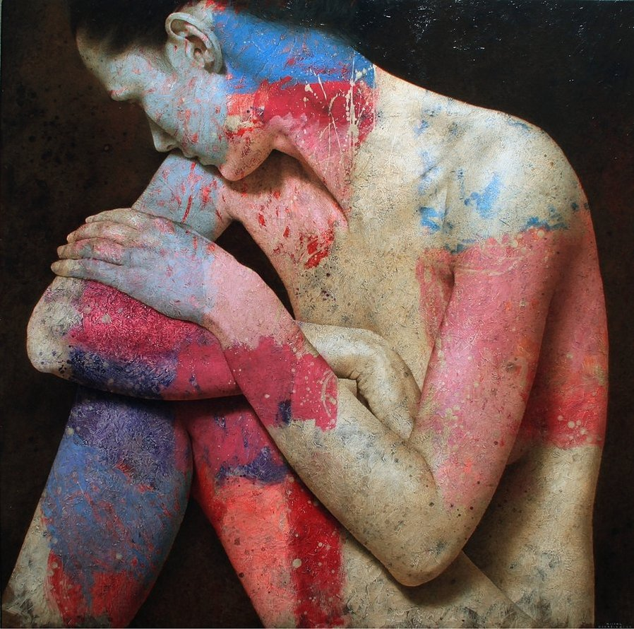 Figurative Painter Michal Lukasiewicz Adds Color: tumblr_mlsnnwNkwZ1rn2fvxo1_1280.jpg