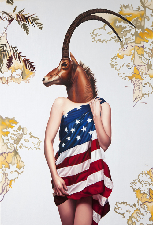 Emily Burns' Deer Girls Series: Burns_American_web.jpg