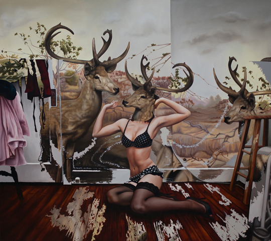 Emily Burns' Deer Girls Series: EBurns.jpg
