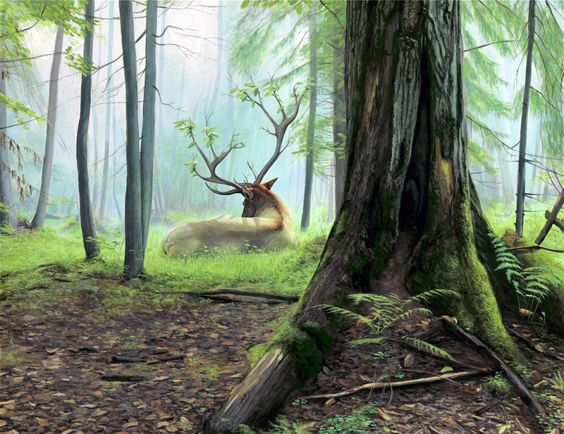 Happy Earth Day: New Paintings from Josh Keyes: Dreaming.jpg