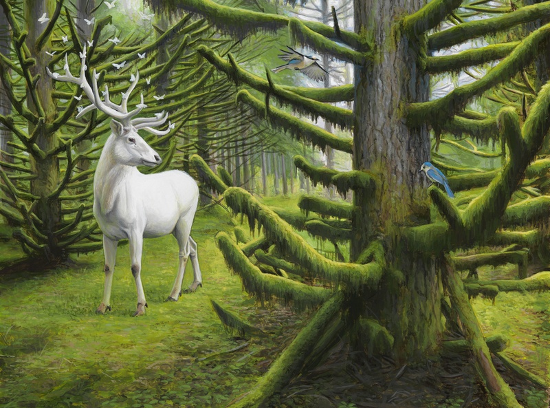 Happy Earth Day: New Paintings from Josh Keyes: MIst 1.jpg