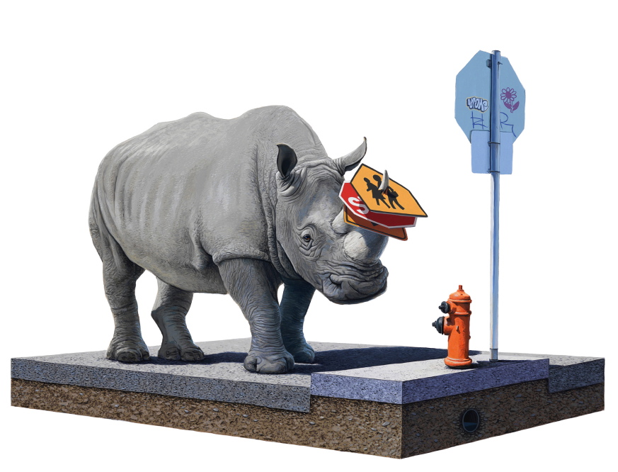 Happy Earth Day: New Paintings from Josh Keyes: NP Collector.jpg