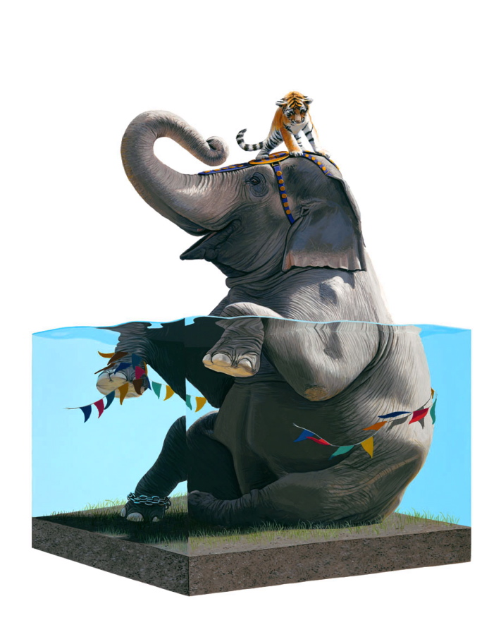 Happy Earth Day: New Paintings from Josh Keyes: NP Lifted 2 01.jpg