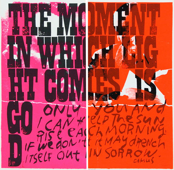 "Corita Kent ""but, there is only one thing that has power"" @ Galerie Allen, Paris: corita_kent_galerie_allen_337.jpg"
