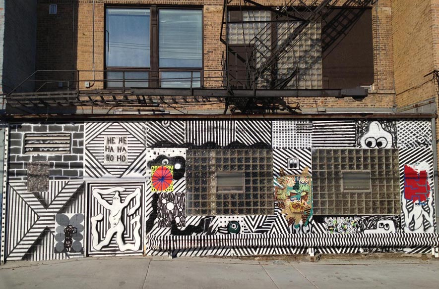 "Ryan Travis Christian ""Check please!"" @ Western Exhibitions, Chicago: 2013_Mural.jpg"