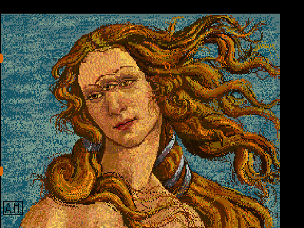 Watch: How Warhol's Amiga Experiments Were Unearthed: 3_Andy_Warhol_Venus_1985_AWF_verge_super_wide.jpg