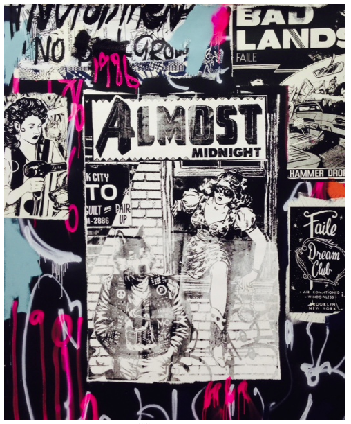 OPENING TONIGHT - Art Truancy: Celebrating 20 Years of Juxtapoz Magazine: FAILE.png