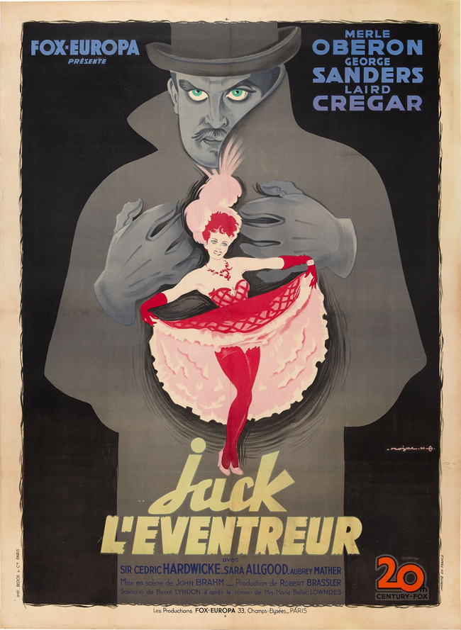 Vintage French Movie Posters (1927-1981): Juxtapoz-50wattsFrench001.jpg