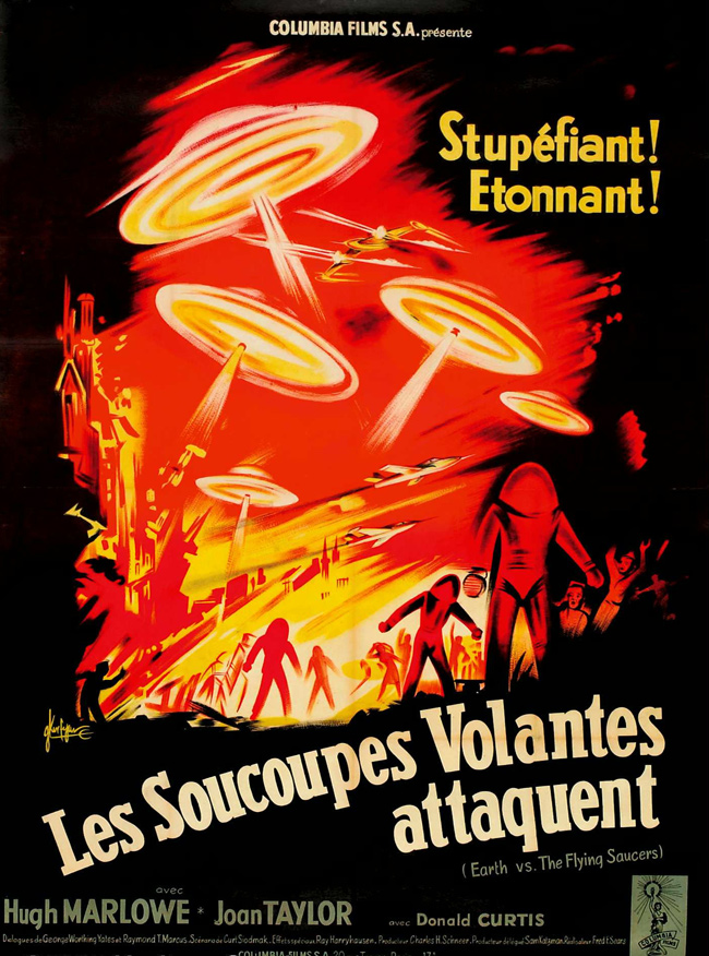 Vintage French Movie Posters (1927-1981): Juxtapoz-50wattsFrench004.jpg