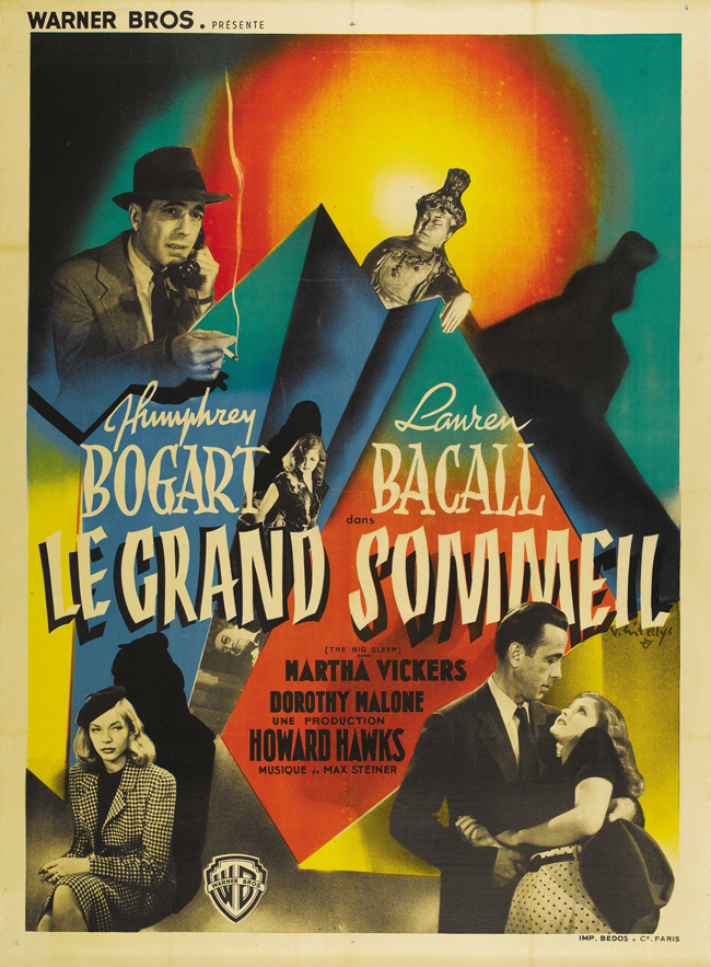 Vintage French Movie Posters (1927-1981): Juxtapoz-50wattsFrench006.jpg