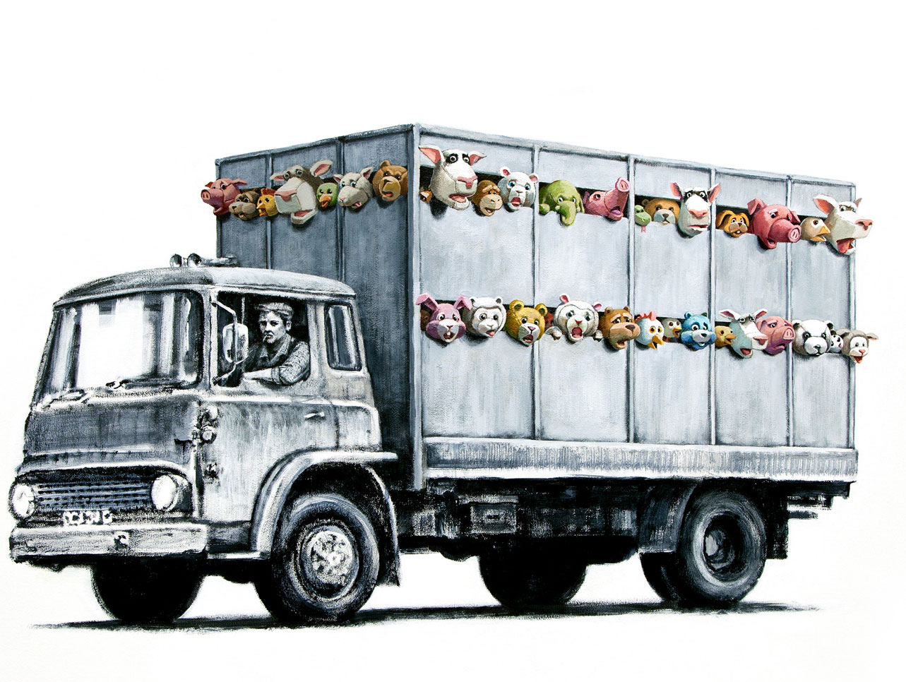 Banksy Meat Truck Illustration: 1-Banksy-meat-truck.jpg