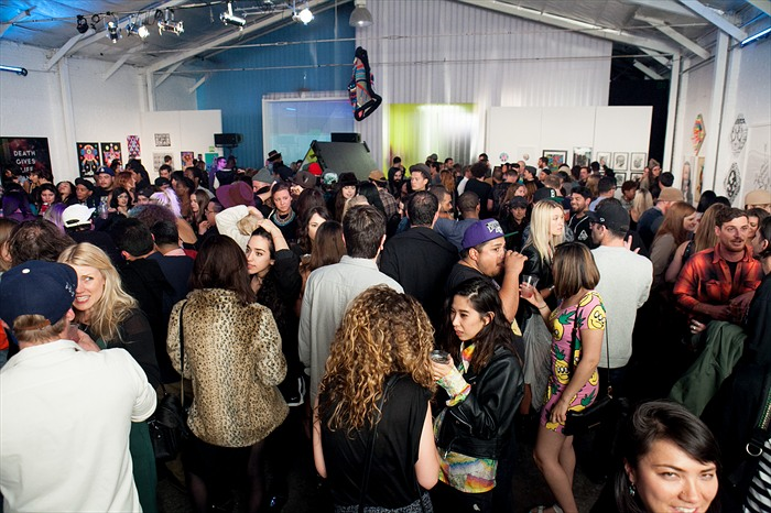 Juxtapoz Psychedelic Book Release & Exhibition @ The Well, LA: Juxtapoz-PsychedelicParty000.jpg