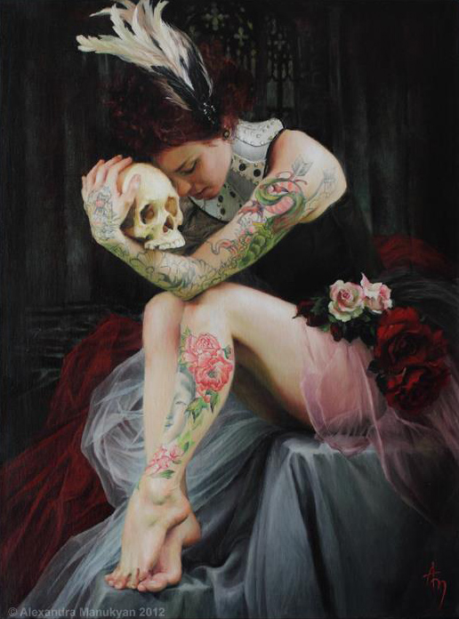 The Paintings of Alexandra Manukyan: tumblr_n4all7pV1m1qbc9oso3_1280.jpg