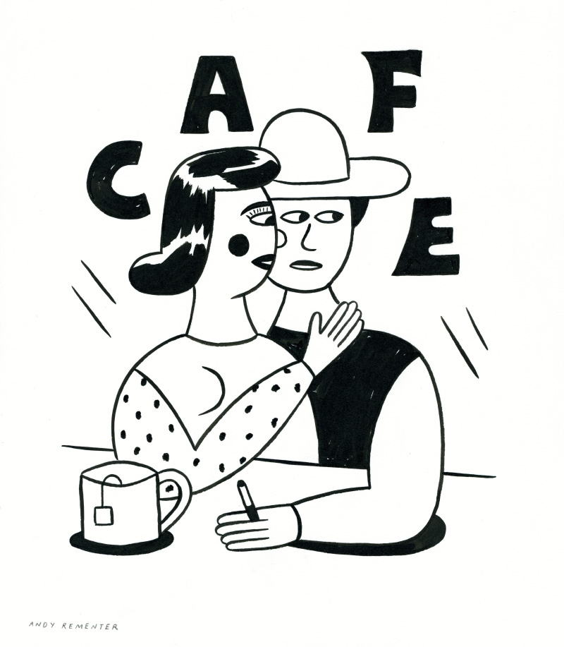 "Andy Rementer ""Meet Me Later"" @ Mondo Cane: CAFE_small.jpg"