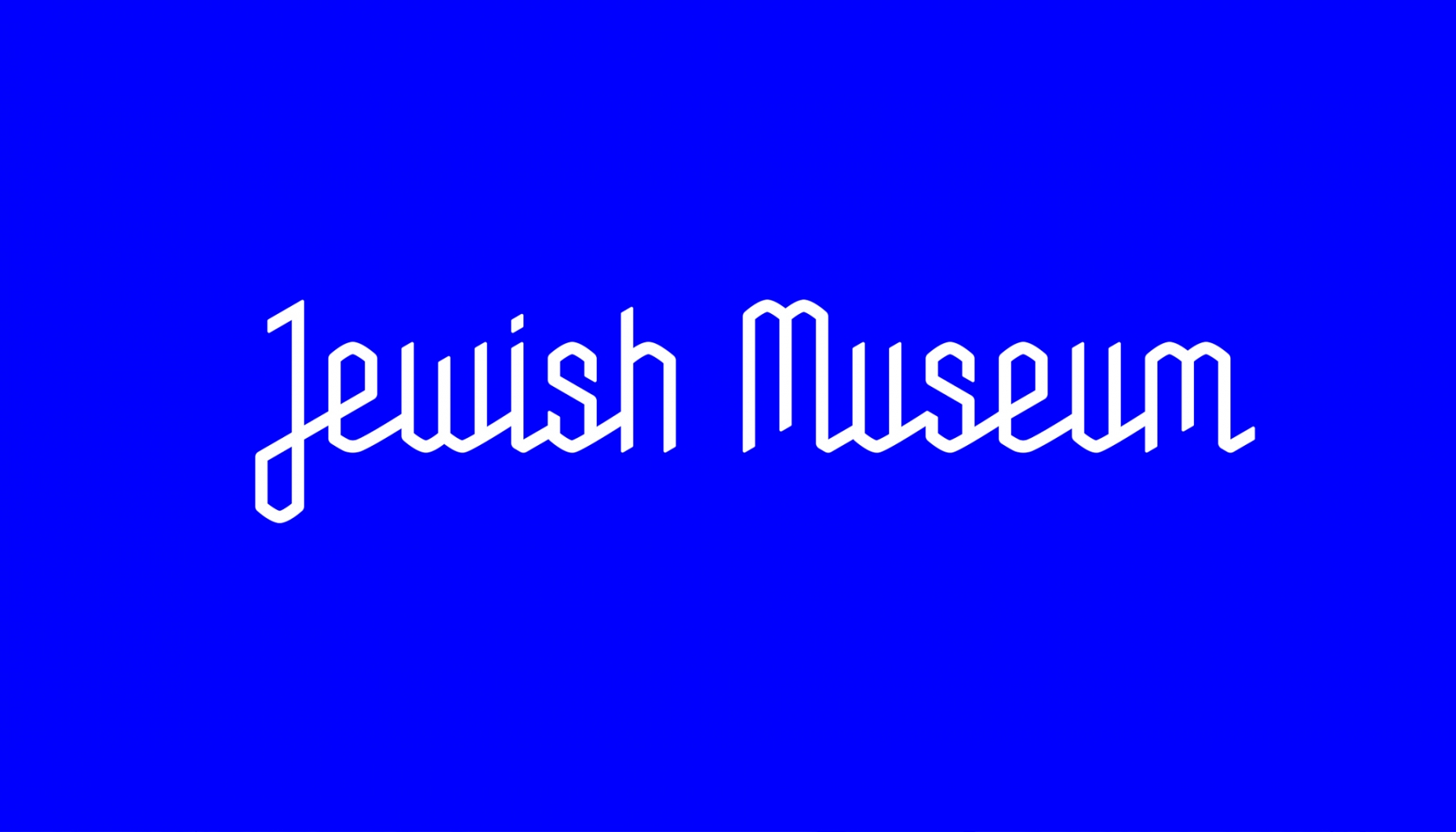 Sagmeister And Walsh For The NY Jewish Museum: JXJM-NYC001.jpg