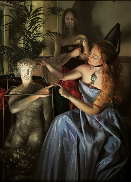 David M. Bowers Narrative Paintings: Bowers_David_The_Emasculation_of_David-large.jpg