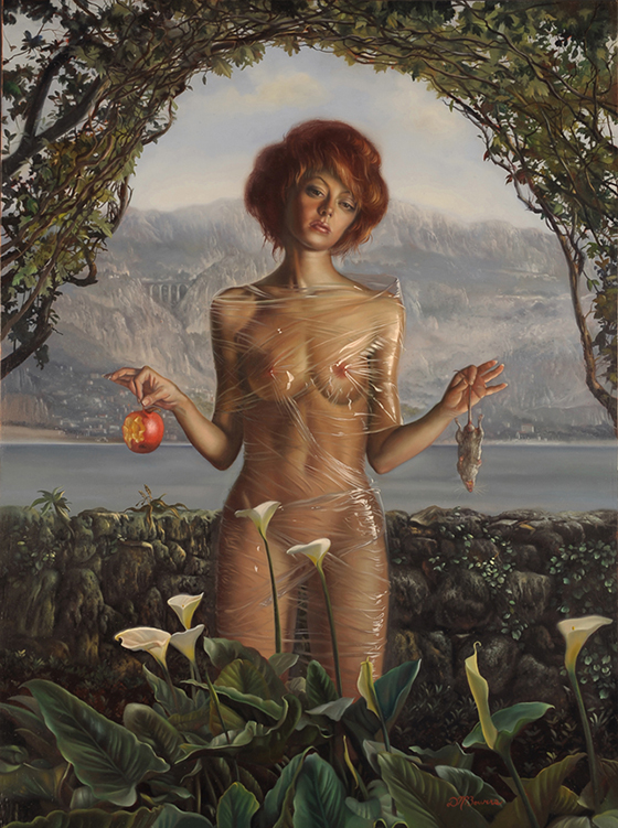 David M. Bowers Narrative Paintings: Unspoiled-15.9-x-11.9-inches-oil-on-panel-2009-small.jpg