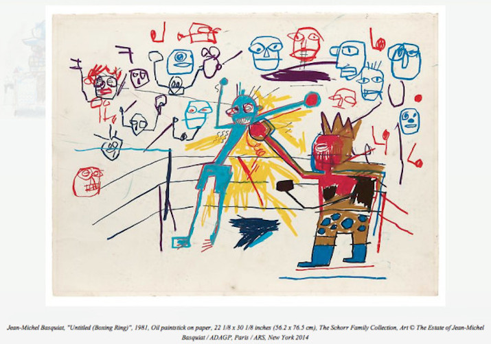 Jean-Michel Basquiat Drawing @ Acquavella Galleries: basquiat-24-unseen-paintings-aacquavella-gallery-2.jpg