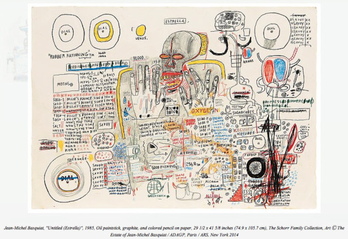 Jean-Michel Basquiat Drawing @ Acquavella Galleries: basquiat-24-unseen-paintings-aacquavella-gallery-3.jpg