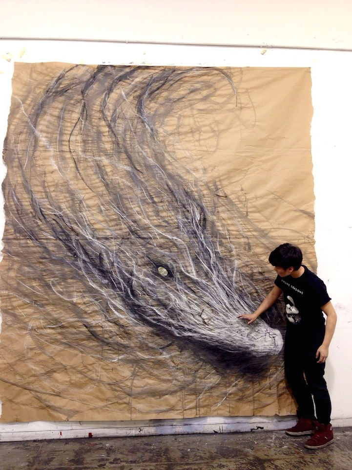 Large-Scale Drawings That Look 3D by Fiona Tang: JuxtapozFionaTang06.jpg