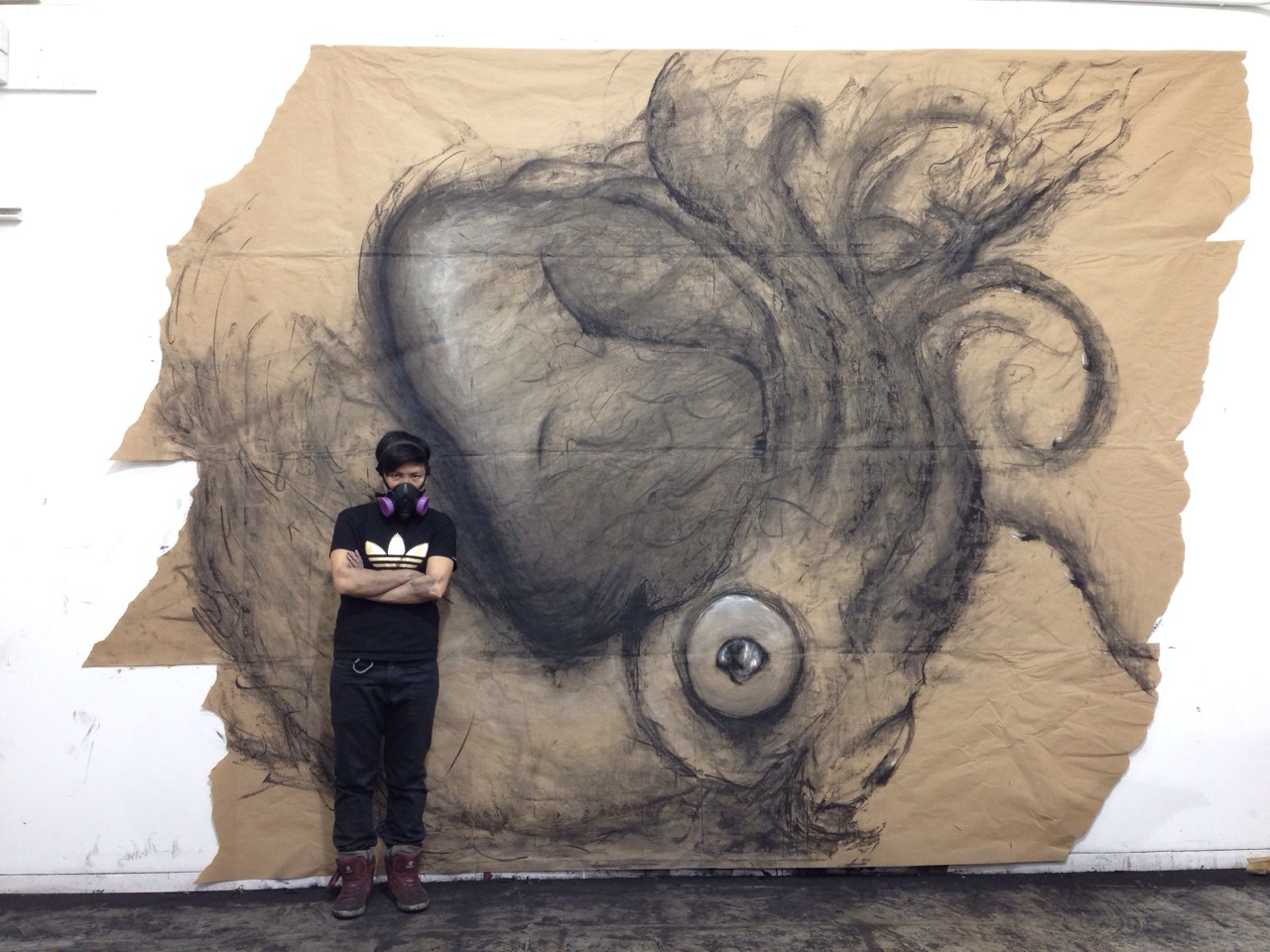 Large-Scale Drawings That Look 3D by Fiona Tang: JuxtapozFionaTang07.jpg