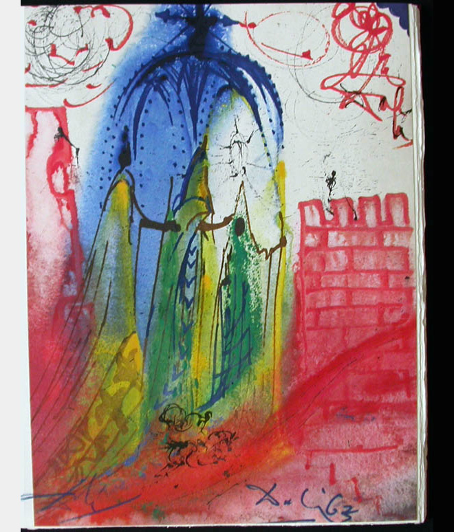 Rare Romeo and Juliet Illustrations by Salvador Dali: dali_rare_03.jpg