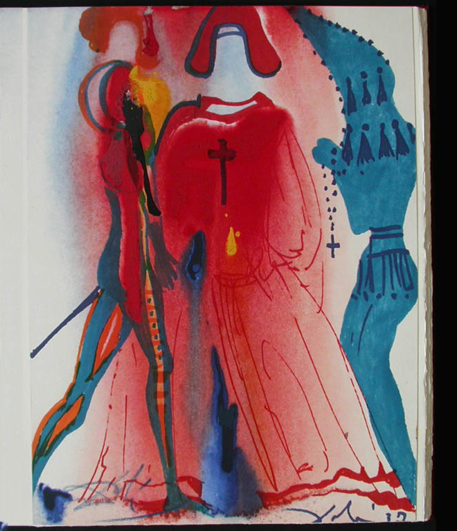 Rare Romeo and Juliet Illustrations by Salvador Dali: dali_rare_04.jpg