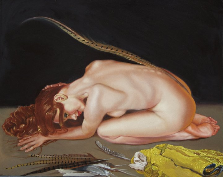 The Erotic Art of Anthony Christian: Madonna of the Feathers.jpg