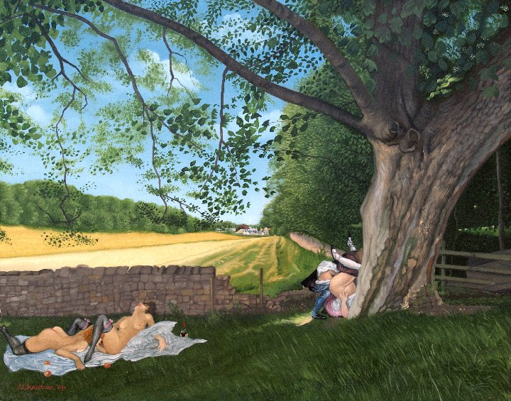 The Erotic Art of Anthony Christian: View towards aberford revisited.jpg